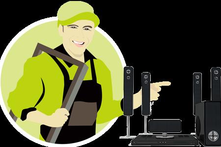 Audio System Repair Service in Kolkata | Music System Repairing Center